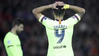 Usai Kalah dari Liverpool, Suarez Tak Mau Antar Anak Sekolah