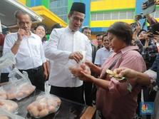 Gelar Operasi Pasar, Mentan Minta Harga Telur Rp 23.000/kg