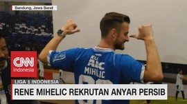 VIDEO: Persib Kenalkan Rene Mihelic, Rekrutan Anyar Persib