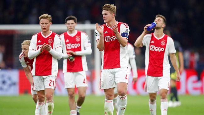 Juara Liga Belanda, Ajax Amsterdam Akhiri Puasa Lima Tahun