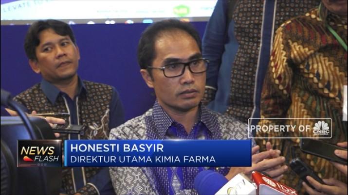 Bio Farma Jadi Induk Holding Farmasi (CNBC Indonesia TV)