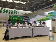 Garuda: Kerja Sama Citilink-Mahata Batal!