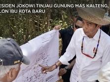 Ketika Jokowi ke Gunung Mas, Calon Ibu Kota RI di Kalteng