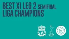 INFOGRAFIS: Best XI Leg 2 Semifinal Liga Champions