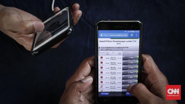 Simulasi Harga Baru Tiket Pesawat Jakarta Padang Rp1 4 Juta