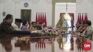 Megawati Lapor ke Jokowi Hasil Kerja Dewan Pengarah BPIP