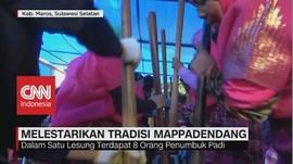 VIDEO: Mappadendang, Simbol Rasa Syukur & Ajang Silaturahmi