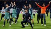 Sukses Tottenham Hotspur menyingkirkan Ajax Amsterdam membawa mereka ke final pertama di pentas Liga Champions. The Lilywhites akan bertemu dengan sesama wakil Inggris, Liverpool, di final pada 1 Juni mendatang. (Action Images via Reuters/Matthew Childs)