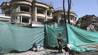 Teror Bom Buat Capres Afghanistan Ketakutan