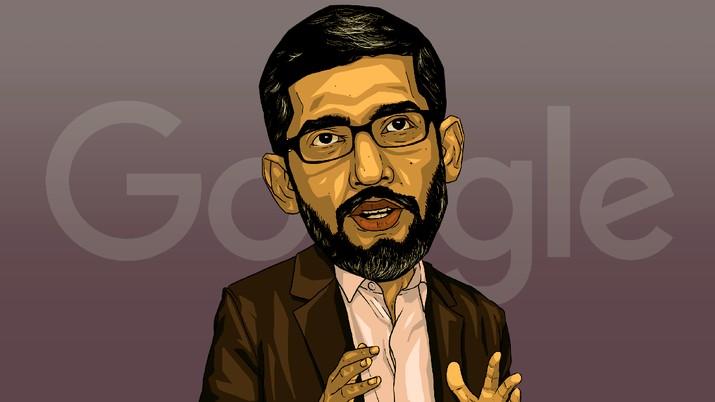 Sundar Pichai resmi menjadi bos Alphabet, Induk Google, menggantikan Larry Page dan Sergey Brin yang mengundurkan diri dari perusahaan.