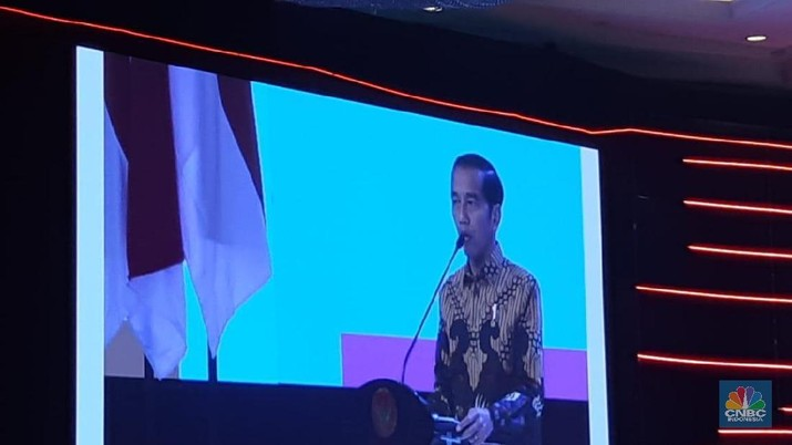 Presiden Joko Widodo secara resmi membuka pelaksanaan Musyawarah Perencanaan Pembangunan Nasional 2019 di Hotel Shangri-La.