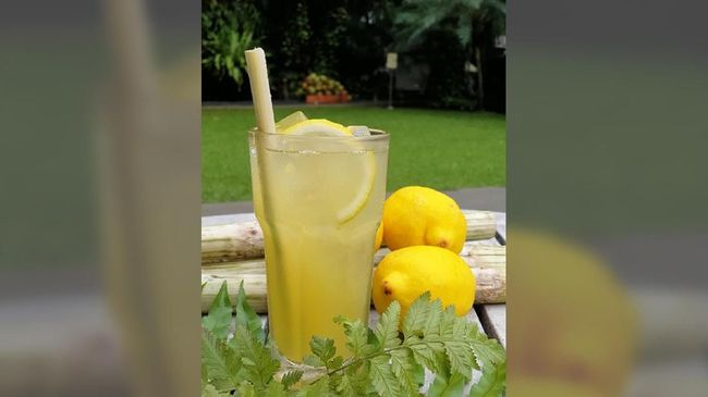 Resep Berbuka Puasa: Es Tebu Lemon