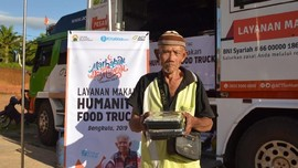 Humanity Food Truck Bantu Makanan ke Korban Banjir Bengkulu