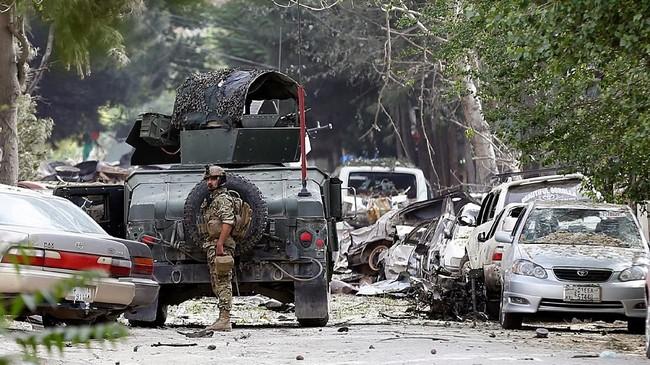 Mereka baku tembak dengan pasukan khusus Afghanistan selama enam jam. (Reuters/Mohammad Ismail)