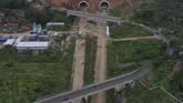 Jalan tol ini juga akan menghubungkan tol Purbaluenyi dan Cikopo-Palimanan (Cipali).(ANTARA FOTO/Puspa Perwitasari)