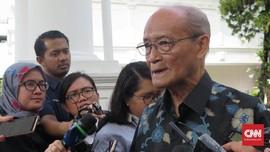 Syafii Maarif Usul Jokowi Bentuk Zaken Kabinet