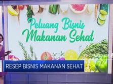 Segarnya Peluang Bisnis Makanan Sehat