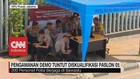 VIDEO: Pengamanan Demo Tuntut Diskualifikasi Paslon 01