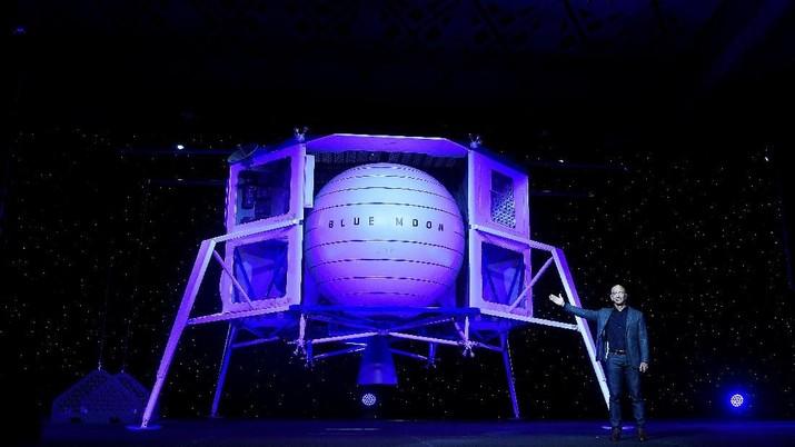 Demi Bisnis di Bulan, Orang Terkaya Dunia Luncurkan Blue Moon