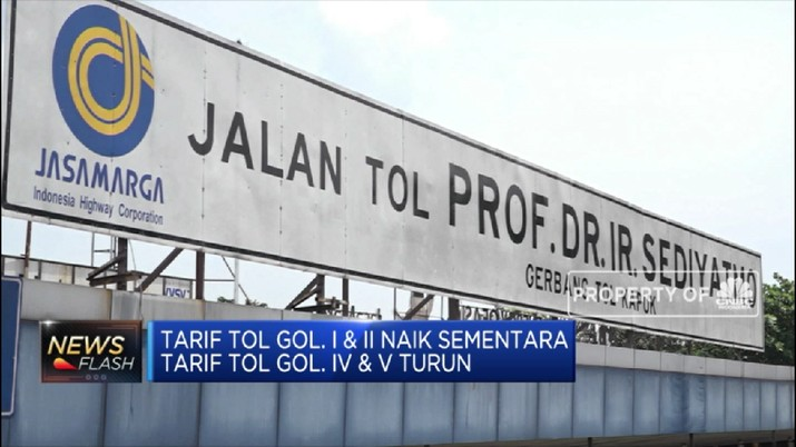 Siap-Siap! Tariff Tol Sedyatmo naik pada 12 Mei  (CNBC Indonesia TV)