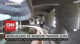 VIDEO: Ngabuburit Sambil Belajar ke Museum Tsunami di Aceh