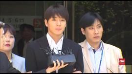 VIDEO: Tersangka Pemerkosaan, Choi Jong Hoon Resmi Ditahan