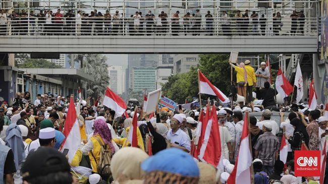 Polisi Cegah Massa 22 Mei Bergerak di Pasar Kemis dan Cisoka