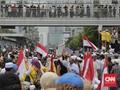 Polri Ancam Bubar Paksa Massa Menginap di KPU Jelang 22 Mei