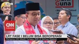 VIDEO: LRT Jakarta Fase I Belum Bisa Beroperasi