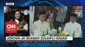 VIDEO: Jokowi-JK Buka Puasa Bersama Zulkifli Hasan