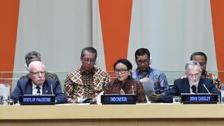Indonesia Akui Berat Hasilkan Resolusi Palestina di DK PBB
