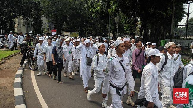 Ada Imbauan Prabowo, FPI Bandung Tetap Kirim 500 Orang ke MK