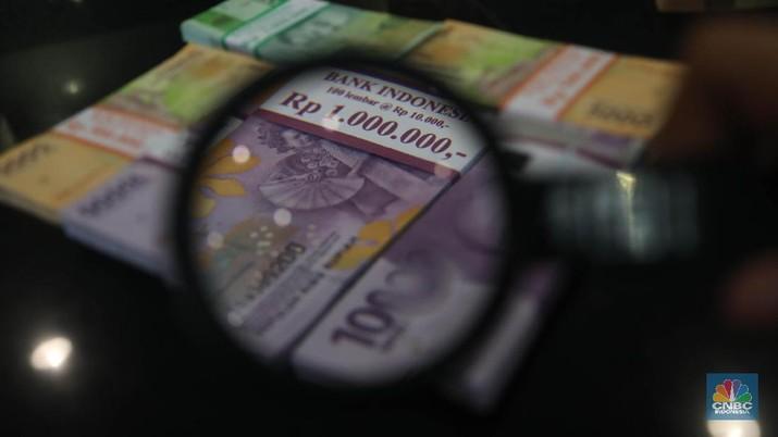 mata uang Rupiah (CNBC Indonesia/Muhammad Sabki)