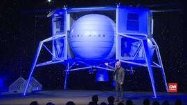 VIDEO: Blue Moon, Kendaraan Masa Depan Manusia ke Bulan