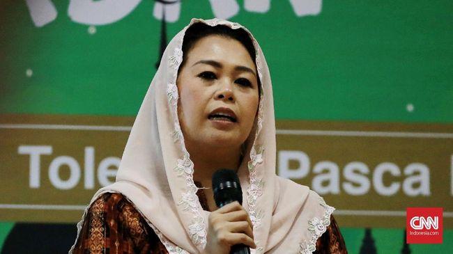 Yenny Wahid Imbau NU Tak Ikut Minta Jatah Menteri ke Jokowi
