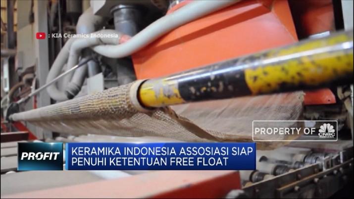 Henan Putihrai Masuk, Saham Keramika Indonesia Meroket