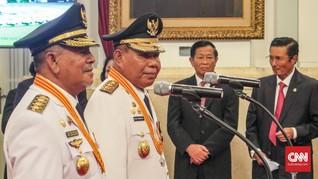 Jokowi Resmi Lantik Gubernur dan Wagub Malut Terpilih