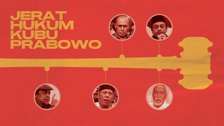 INFOGRAFIS: Jerat Hukum Kubu Prabowo