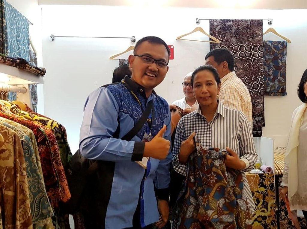 Acara yang digelar oleh Yayasan Batik Indonesia dan dukungan BNI itu diikuti sedikitnya 260 booth perajin batik dari seluruh Indonesia pada 8-12 Mei 2019 di Jakarta Convention Center (JCC). Foto: dok. BNI