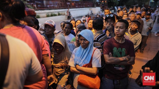 Pihak Vihara juga mengadakan buka puasa untuk kaum muslimin. Berbuka gratis digelar di Klenteng Tek le hingga 29 Mei mendatang. (CNN Indonesia/Adhi Wicaksono)