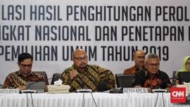 KPU Tetapkan Jokowi-Ma'ruf Pemenang Pilpres 2019