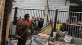 Kondisi Rutan Kelas II B Siak Sri Indrapura, Kabupaten Siak, menurut Direktur Keamanan dan Ketertiban Ditjenpas Lilik Sujandi kelebihan kapasitas. Total narapidana dan tahanan di Rutan tersebut sebanyak 168 orang. (ANTARA FOTO/Rony Muharrman/hp).