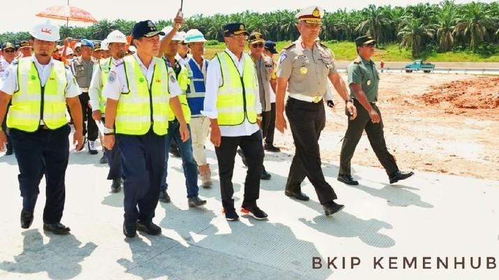 Ruas Tol Bakauheni-Palembang Siap Dilewati Mudik Lebaran