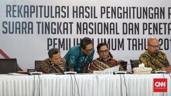 Hasil Pleno Pilpres di 28 Provinsi: Jokowi Unggul 55,7 Persen