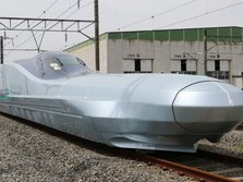 Jepang Uji Coba Kereta Tercepat di Dunia, Tempuh 400 Km/Jam