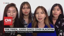 VIDEO: Pink Panda Juarai Dance Cover Blackpink