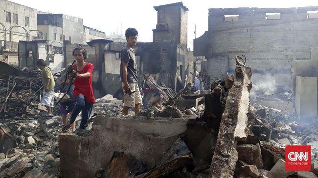 Selter Penampung Korban Kebakaran Kampung Bandan Dilelang