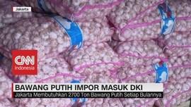 VIDEO: Bawang Putih Impor Masuk DKI