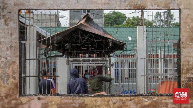 Polisi Periksa Tiga Sipir Diduga Pemicu Ricuh di Rutan Siak