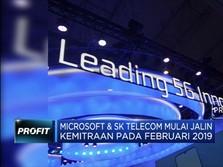SK Telecom dan Microsoft Jalin Kerja Sama